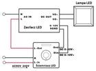 Ściemniacz LED 1-10V z pilotem IR max. 600W (5)